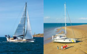 allures-409-ovni-400-yacht-review-head-to-head-boat-test-credit-Francois-Tregouet-Jerome-Houyvet