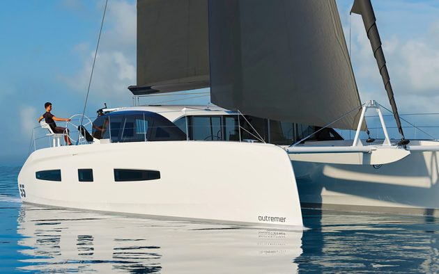 outremer-55-new-catamaran-yachts-bow-running-shot