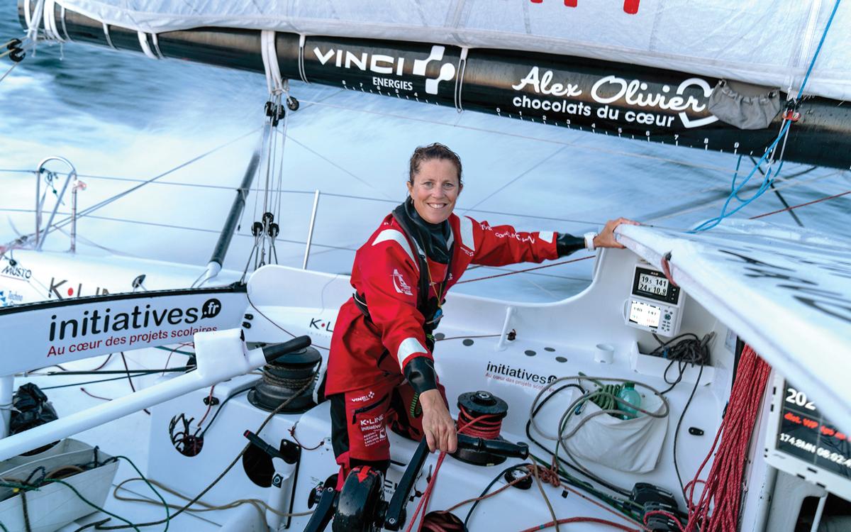 vendee-globe-2020-contenders-Sam-Davies-iniatives-coeur-cockpit-credit-Yann-Riou