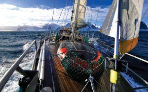 sailing-antarctica-nick-moloney-Ocean-Tramp-ketch-foredeck
