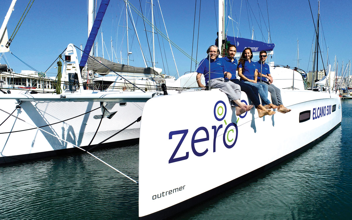 jimmy-cornell-electric-catamaran-crew-credit-Gilles-Foucras-Outremer