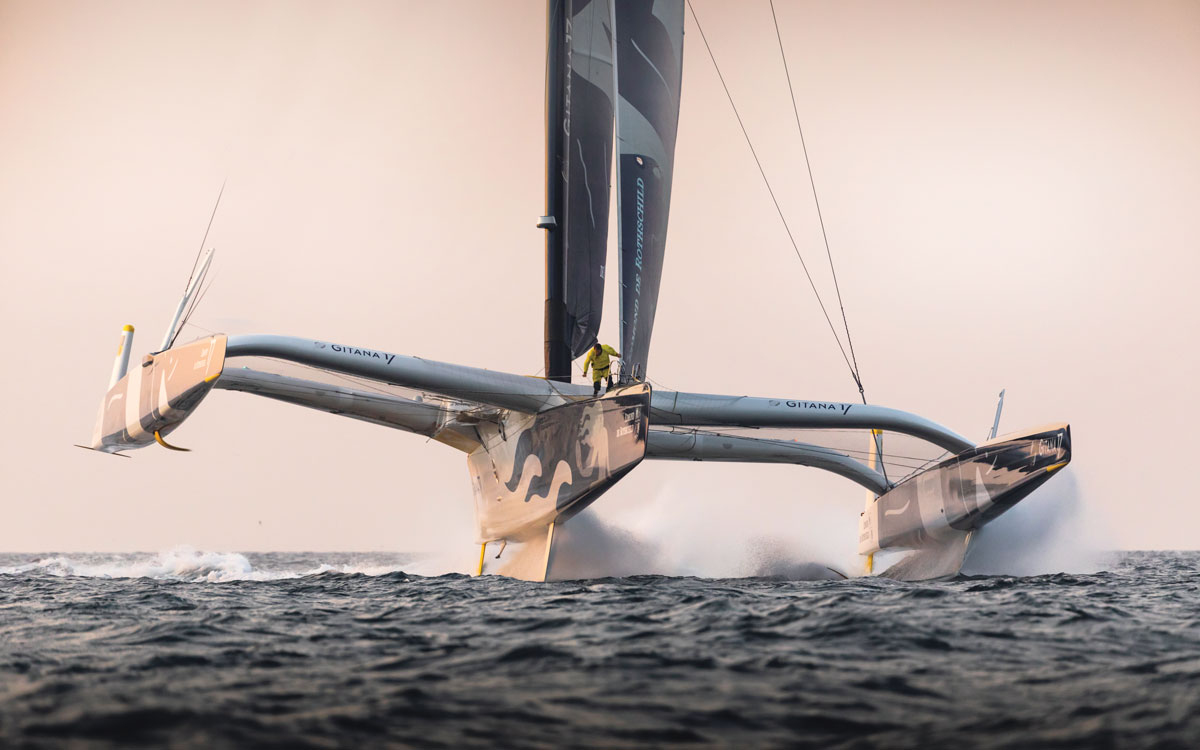 Round the world race: 100ft trimarans set for solo race - Yachting World