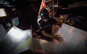 paper-charts-navigation-briefing-Libby-Greenhalgh-Sun-Hung-Kai-Scallywag-credit-Konrad-Frost-Volvo-Ocean-Race