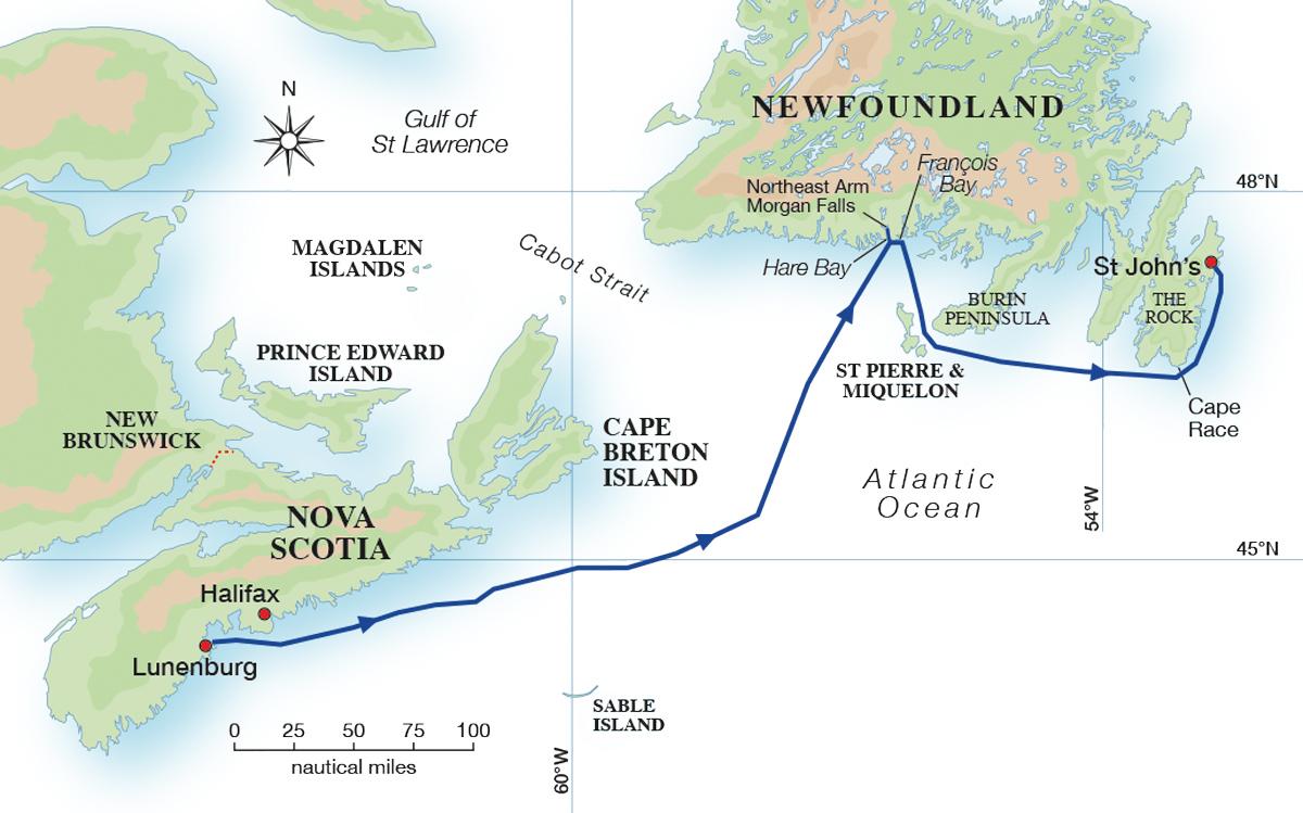 sailing-newfoundland-map