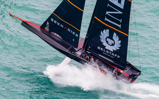 Prada Cup Final, INEOS leap from the water