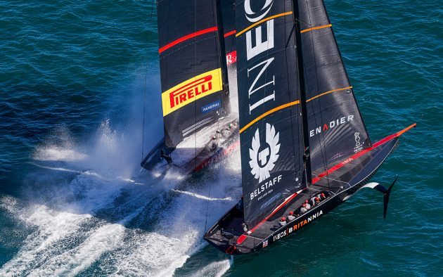 INEOS concede a penalty in Race 5 of the Prada Cup final