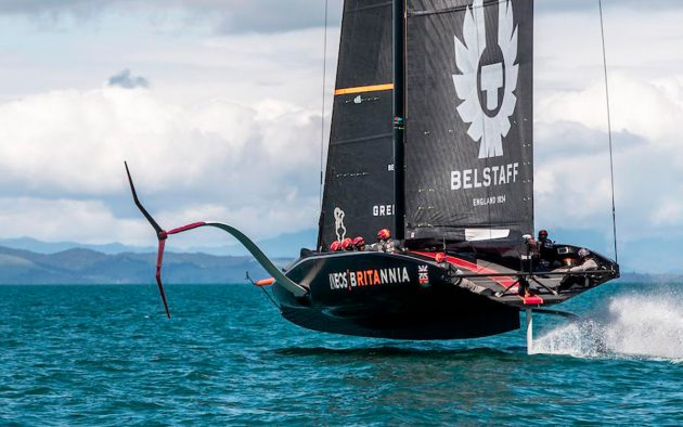 INEOS Team UK just missed out on the America's Cup