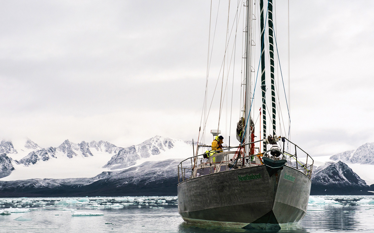 Polar Circumnavigation: Open Water Breaking Ice - Yachting World
