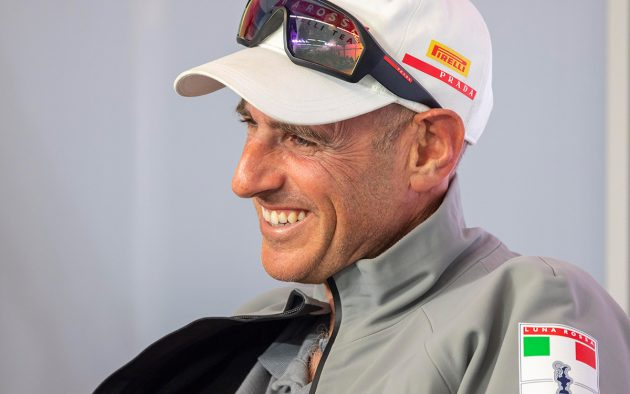 Bruni is one of two America's Cup skippers for Italy