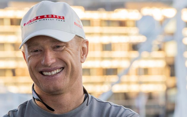 Jimmy Spithill is one of two America's Cup skippers for Italy