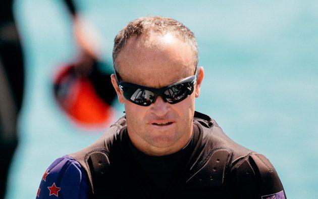Glenn Ashby, America's Cup skipper for NZL