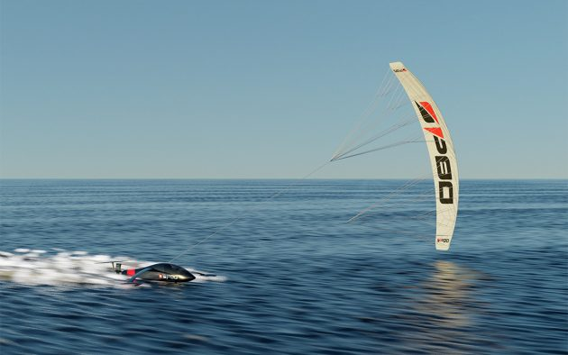 The SP80 aims the be the world's fastest sailboat