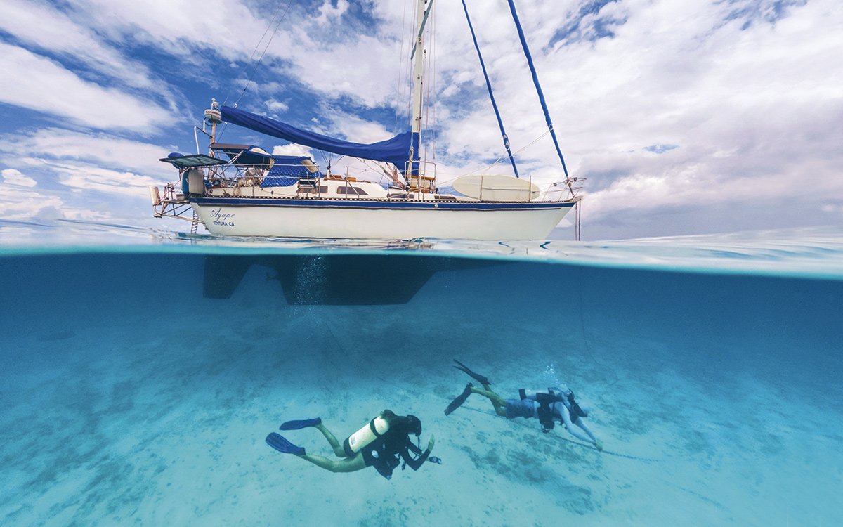 Diving from a boat – advice from the experts - Yachting World