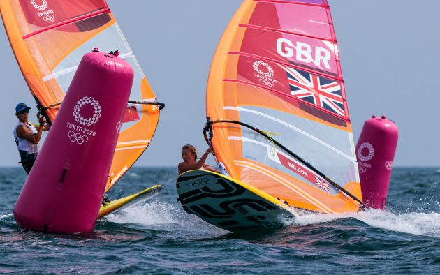Womens' RS:X Olympic Sailing