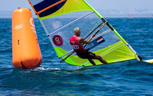 Olympic sailing windsurfer - men