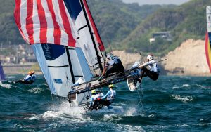Tokyo 2020 Olympic Sailing: Brits to the fore on day four