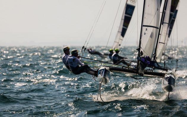Olympic sailing Nacra17s