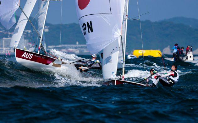 Olympic Sailing big waves