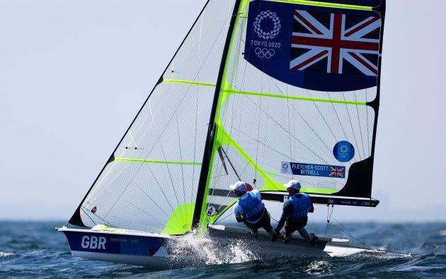 Men's Olympic sailing skiff