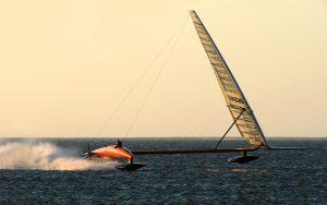 World's coolest yachts: Vestas Sailrocket 2