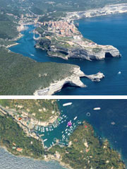 Panoramic aerials