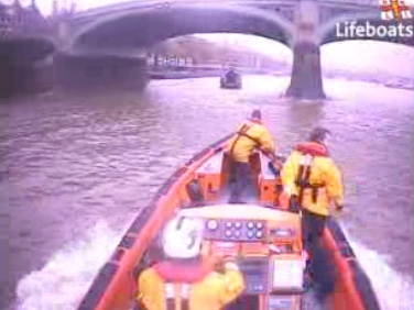 RNLI Westminster rescue