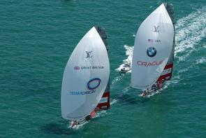 BMW Oracle and Team Origin