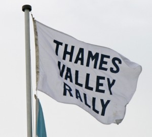 Thames Vally Rally Flag