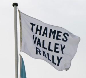 Thames Vally Rally Flag