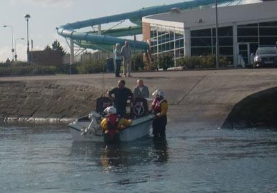 rnli rescue motor cruiser