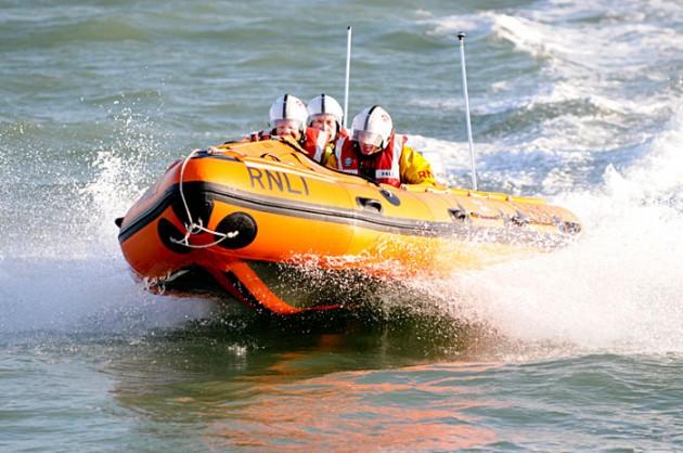 Calshot Lifeboat