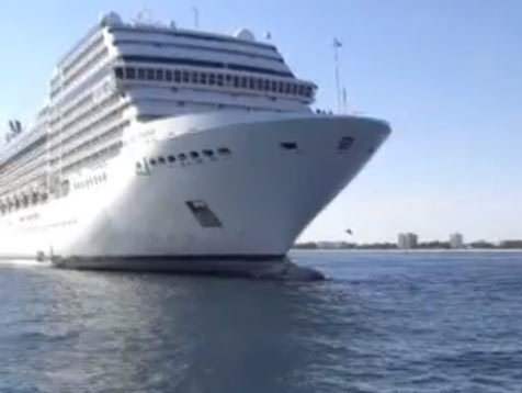 Party Cruise Ship Runs Aground In Caribbean Ybw