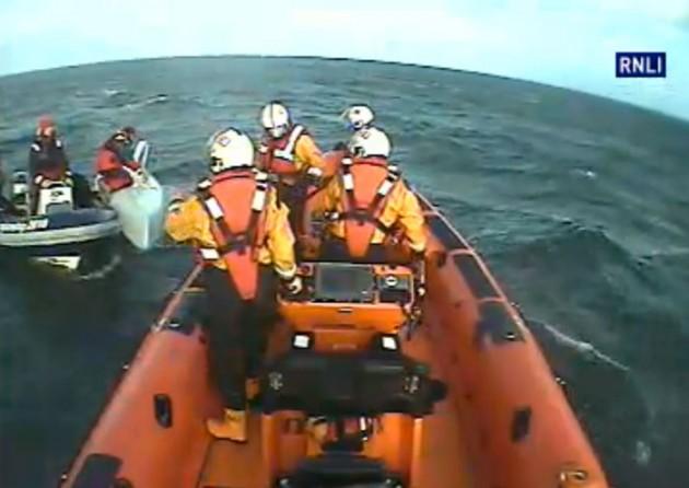 RNLI rescue video