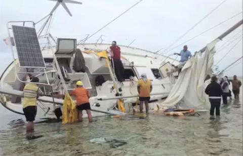 Drugs found on yacht near Tonga