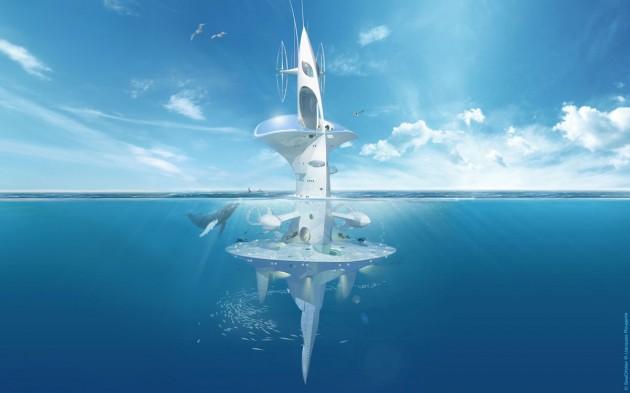 SeaOrbiter underwater lab