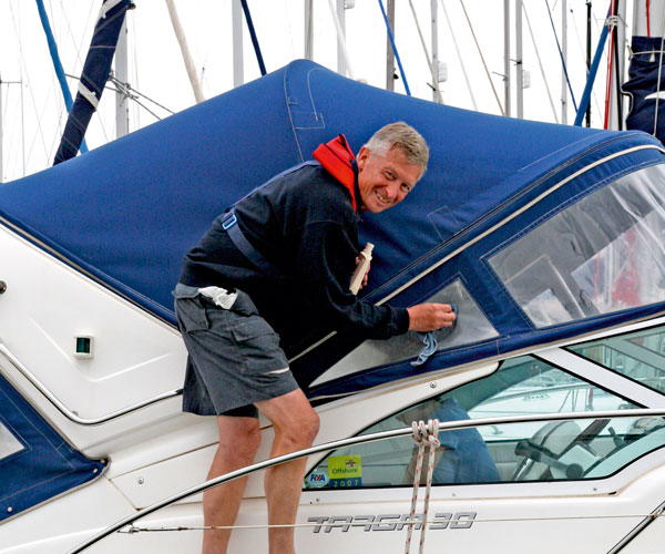 Boat canvas cleaning made easy - YBW