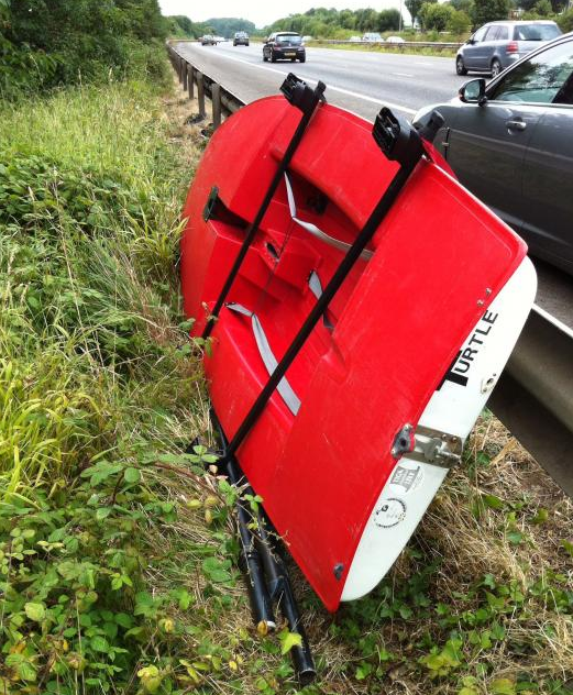 Sailing Dinghy Stolen From The Side Of A Motorway Ybw