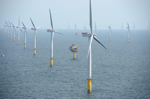 Sheringham Shoal wind farm