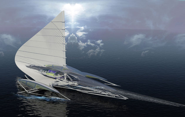 Plans For Energy Efficient Yacht Revealed Ybw