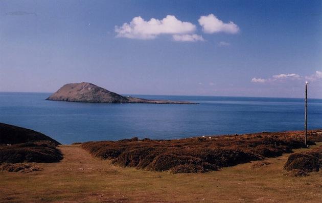 Bardsey Island off Wales