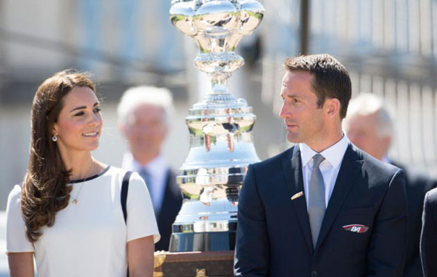 Kate Middleton and Ben Ainslie