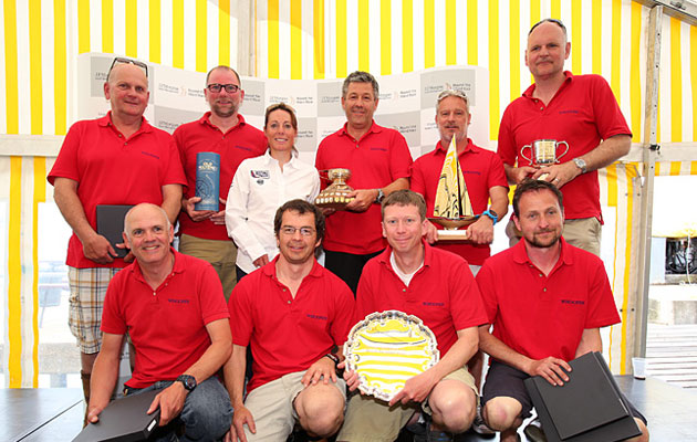 Round the Island Race prizegiving