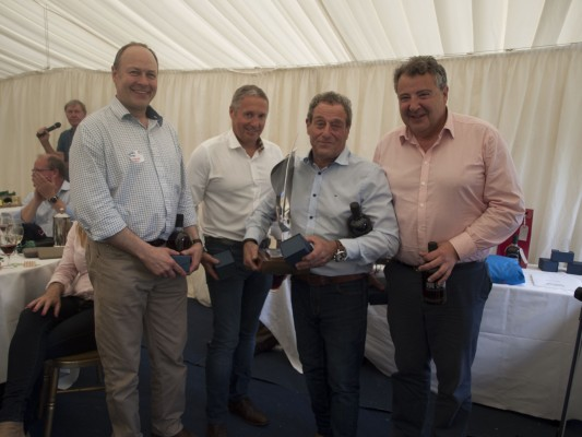 The winning team: Sunseeker London