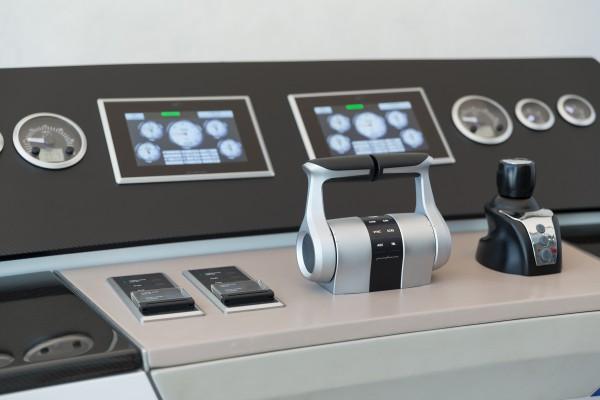 MTU Pininfarina bridge components