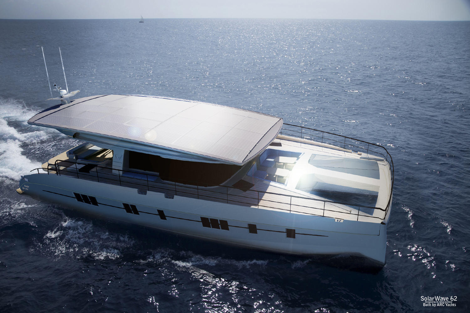 Solarwave 62 The World S First Zero Emission Luxury Motor Yacht