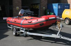 mid west fire rescue service boat