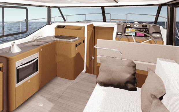 Beneteau Swift Trawler 30 - galley
