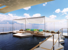 Proposed beach deck on Symmetry