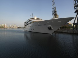 view of sunborn yacht london