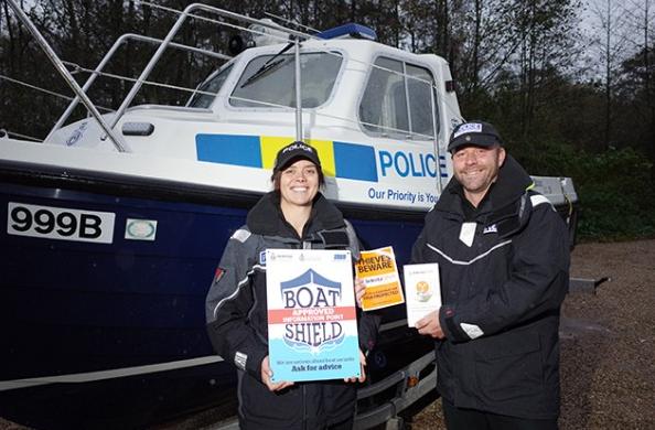 Norfolk Broads Police Marine Theft initiative